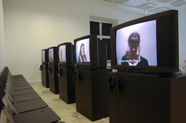 Interview - installation view